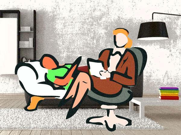 """Психотерапия - это оказание психологической помощи, то, что Фрейд называл """"лечением разговором""""."""