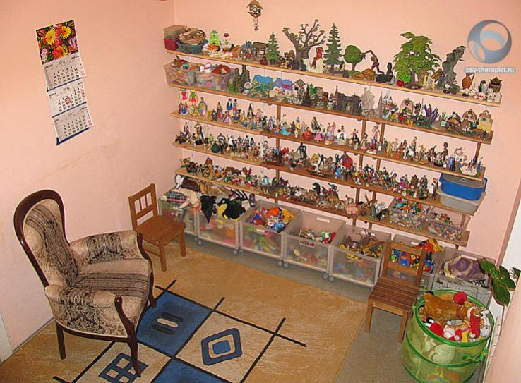 кабинет для работы с детьми, детской психотерапии и психоанализа