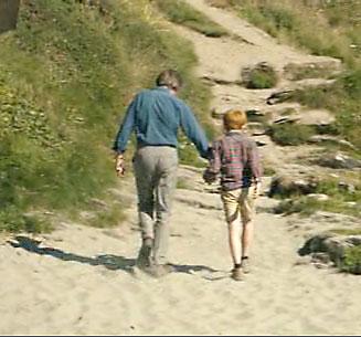Хороший отец проводит время с сыном и занимается с сыном