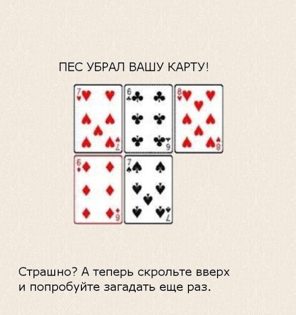 Психология карточных фокусов