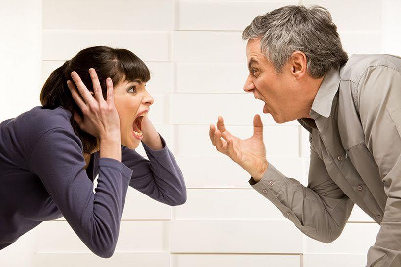 Стресс от супружеских ссор разрушителен для здоровья!