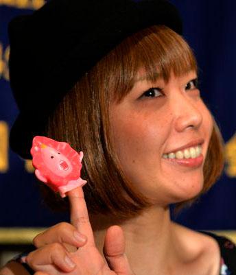 Megumi Igarashi со своей вагиной